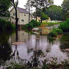 Roads weren't the only thing to be flooded today. If your basement or home suffered water damage during the storm follow these tips for cleaning up after a flood.