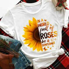 In a world full of roses- Hippie girl- Only $18.99 Clothes For Sale, Sweatshirts, Sweaters, T Shirt, Roses, Style, Crafts, Art, Fashion