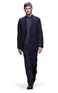 Ermenegildo Zegna Couture: Fall Winter 2014-15 Fashion Show by Stefano Pilati – Look 5