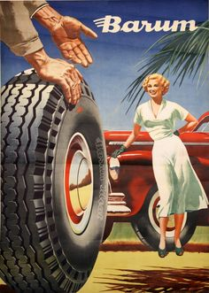 "Czechoslovakia, by Bohumila ""Bimby"" Konečného Vintage Advertisements, Vintage Ads, Vintage Posters, Retro Logos, Advertising Poster, Retro Cars, Cars And Motorcycles, Diorama, Techno"