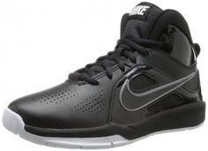3f58090f7bb8 7. Nike Team Hustle D 6 Black White Boys Basketball Shoes Nike Shoes For
