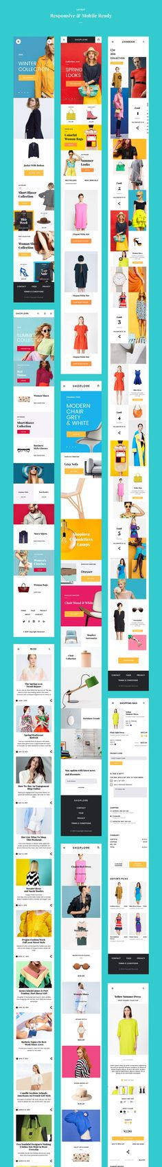 The shop Theme of all time - Love a good success story? Learn how I went from zero to 1 million in sales in 5 months with an e-commerce store. Mobile Web Design, App Ui Design, Dashboard Design, Flat Design, Design Design, Interface Web, Interface Design, Design Thinking, Motion Design