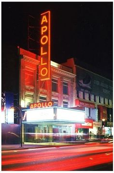 Apollo Theater - Played There Several Times