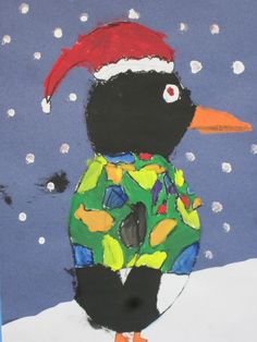 Lines, Dots, and Doodles: Penguins, 2nd Grade Tacky the Penguin