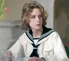 Tadzio from the Italian 1971 film Morte a Venezia or Death in Venice played by Björn Andrésen ​​​​