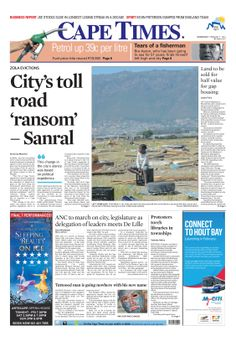 News making headlines: City's toll road 'ransom' - Sanral
