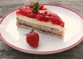 Oreo torta s tvarohom - Recept Oreo Cheesecake, Dessert Recipes, Desserts, White Chocolate, Strawberry, Fruit, Food, Cakes, Pinterest Marketing