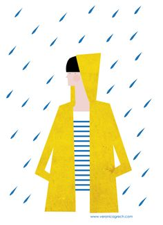 Nice Blog Graphic  Veronica Grech blog I love yellow raincoats! www.veronicagrech.com