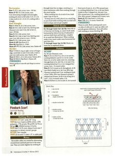 Free Adorable Scarf pattern Really nice stitch to try!!!