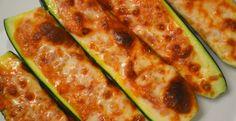 Receta Calabacitas rellenas con queso | Los Sabores de México y el mundo