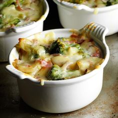Broccoli Scalloped Potatoes Recipe -The combination of ham and cheese creates a wonderfully smoky flavor. I also love that I can cook an entire meal—vegetable and all—in one standout dish. —Denell Syslo, Fullerton, Nebraska