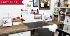 DIY, Craftroom, Craft, Sewing, Nähzimmer, Nähecke, Ikea, Aufbewahrung, Stoff, Nähmaschine, Schnittmuster, selber machen, Leder, Basteln, Arbeitszimmer, Schreibtisch, Sewing, Ordnung