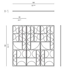 www.rossato.com home-collection products tiffany-screen.html