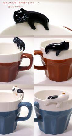 デコレ(DECOLE)concombre旅猫 うとうとマグカップ