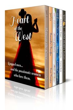 A boxed set of Western Historical Romances including Stone Heart's Woman