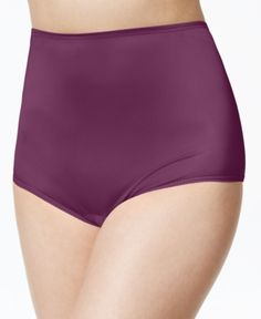 b0d18ab7ce0 Vanity Fair Perfectly Yours Ravissant Nylon Full Brief 15712, also  available in extended sizes - Black 9