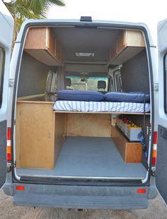 Comfy rvs camper van conversion ideas on a budget (9)