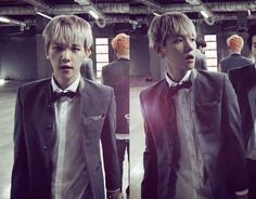 [CAP] #Baekhyun from #Growl MV. High skull boy :))