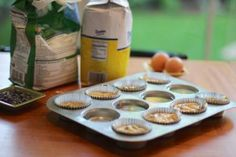 Tips for baking better cupcakes and muffins - including filling empty spots in the muffin tin with water so they bake more evenly
