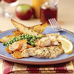 Parmesan Haddock with Oven-Fried Chips