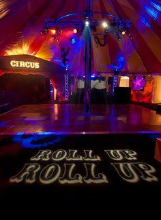 Circus themed 21st birthday.