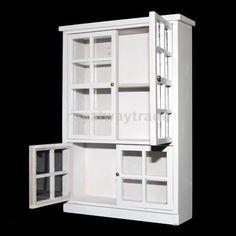 Furniture Kitchen Dining Room Carbinet Display Shlef 1/12 Dollhouse Miniature #Unbranded