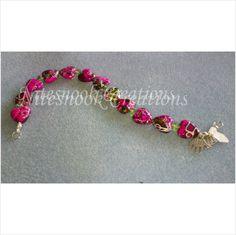 Beautiful bracelet - handmade - hearts - crystals - 02 on eBid United Kingdom