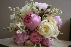 lily of the valley and peony bouquet - Google otsing