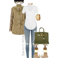 Untitled #2303 by stylebydnicole on Polyvore featuring polyvore, fashion, style, Helmut Lang, River Island, Michael Kors, Allurez, CÉLINE and Hermès