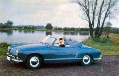 Dark Blue Karmann Ghia