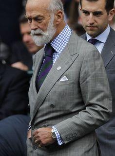 Prince Michael of Kent at Wimbledon 2014