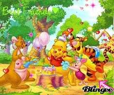 Winnie the Pooh :Best birthday are spent with friends Winne The Pooh, Winnie The Pooh Birthday, Disney Winnie The Pooh, Eeyore Pictures, Winnie The Pooh Pictures, Pooh Bear, Tigger, Cellphone Wallpaper, Fairy Tales