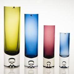 Glass Design, Design Art, Kosta Boda, Pint Glass, Finland, Glass Art, Art Deco, Table, Vintage