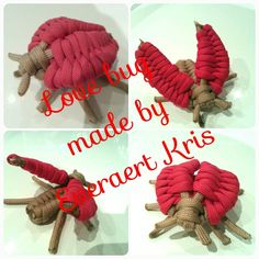 Love bug paracord Made by Everaert Kris  #paracord #everaert #kris #animal #love #bug