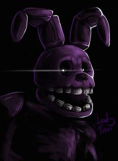 FNAF - Shadow Bonnie by LadyFiszi
