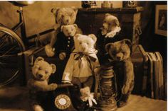 Antique Teddy BearGreetings cards