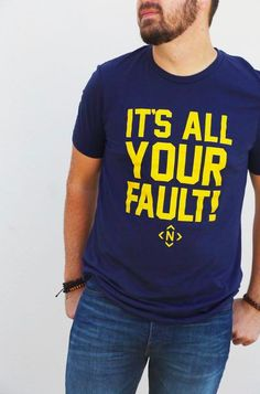 9c98378e4b59f It s All Your Fault   Hockey Outfit   Predators   Mens Hockey Outfit    Nashville  . The Nash Collection