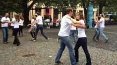 International Zouk Flashmob Munich 21.09.2014. Test vor dem Sendlinger Tor