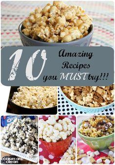 Amazing Popcorn Recipes