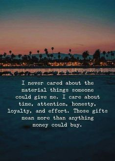 And the last thing most people give... it requires trust, love, and faith in someone... most are to busy protecting their own interests and true desires:-l