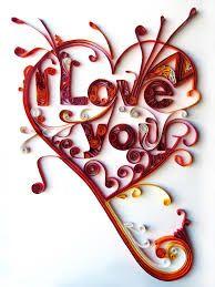 filigranas de papel - Buscar con Google #ValentinesDay #SanValentin