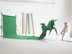 Life-size origami
