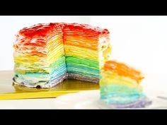 """Eugenie Cookie"" Rainbow Heart Cookies Slice & Bake Surprise! DIY Rainbow Treats - YouTube"