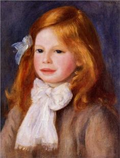 Jean Renoir - Pierre-Auguste Renoir #www.frenchriviera.com