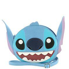 Amazon.com: Loungefly Stitch Crossbody Bag Blue: Shoes