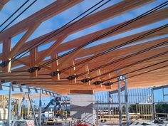 inverted king post steel truss - Google Search