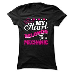 Mechanic Life Partner T-Shirts, Hoodies. GET IT ==► https://www.sunfrog.com/LifeStyle/Mechanic-Life-Partner-86944261-Ladies.html?id=41382
