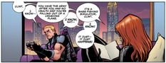 Agent of Asgard 1 - Clint, Natasha