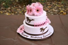horse cakes for girls | made this for my daughters 8th birthday. She loves horse and I love ...
