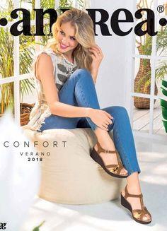 Catalogo Andrea Confort Verano 2018 Catalogo De Zapatos Andrea Zapatos Andrea Catalogo Zapatos